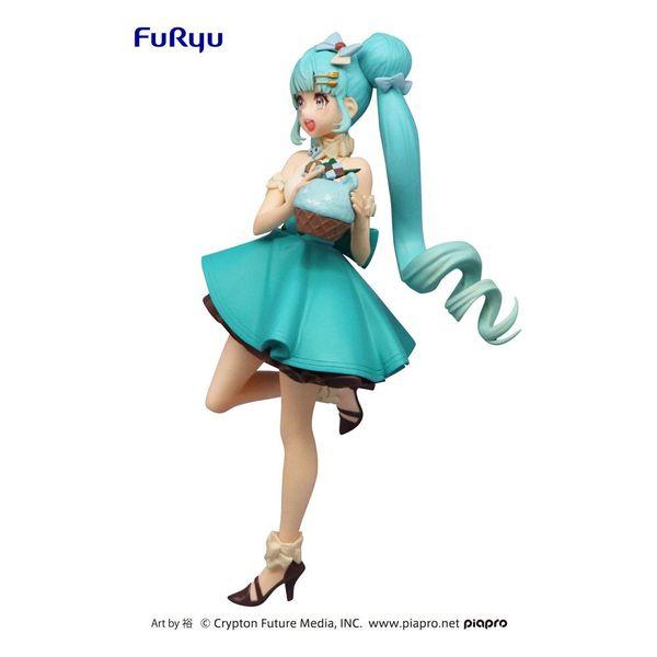 Figura Hatsune Miku Chocolate Mint Vocaloid SweetSweets Series