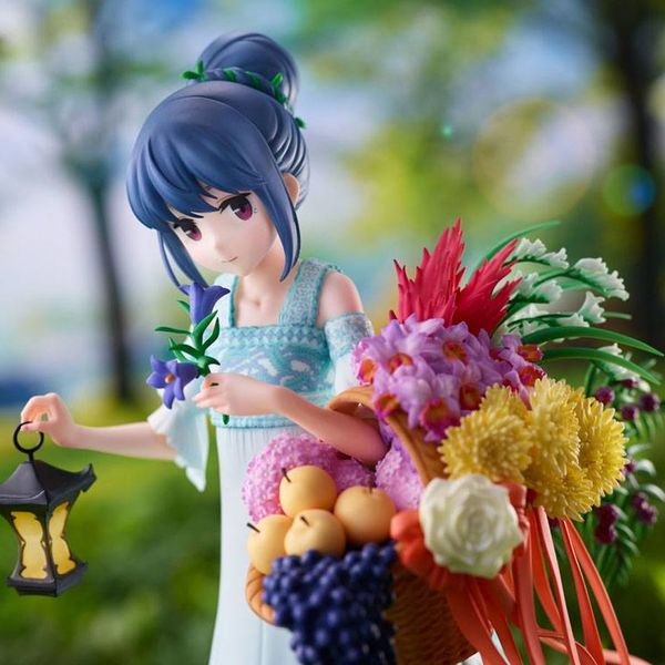 Figura Rin Shima Birthday Ver Laid Back Camp