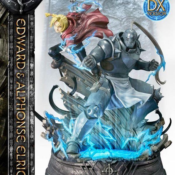 Estatua Edward & Alphonse Elric Deluxe Version Fullmetal Alchemist