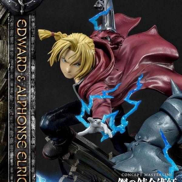Estatua Edward & Alphonse Elric Fullmetal Alchemist