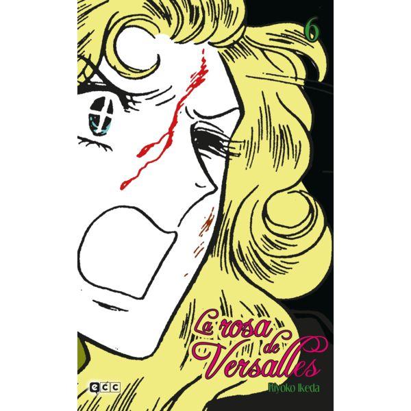La Rosa de Versalles #06 Manga Oficial ECC Ediciones (spanish)