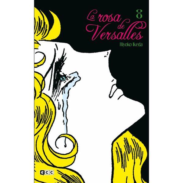 La Rosa de Versalles #08 Manga Oficial ECC Ediciones