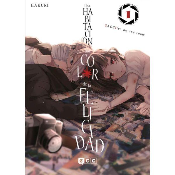 Una Habitación del Color de la Felicidad #01 Manga Oficial ECC Ediciones