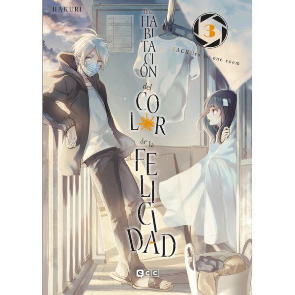 Una Habitacion del Color de la Felicidad #03 Manga Oficial ECC Ediciones