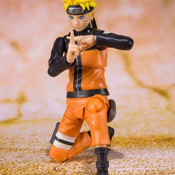 Naruto Uzumaki Best Selection New Package Ver SH Figuarts Naruto Shippuden