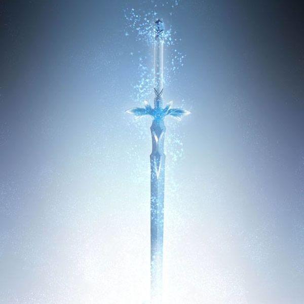 Proplica Espada Blue Rose Sword Art Online Alicization War of Underworld