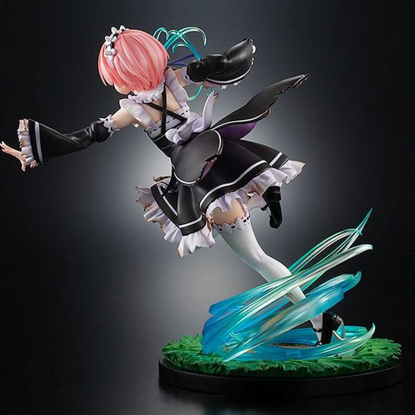 Figura Ram Battle with Roswaal Ver Re Zero Starting Life in Another World