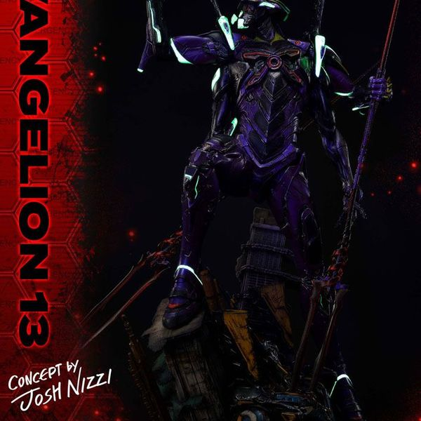 Estatua Evangelion 13 Concept by Josh Nizzi Evangelion 3.0 You Can (Not) Redo