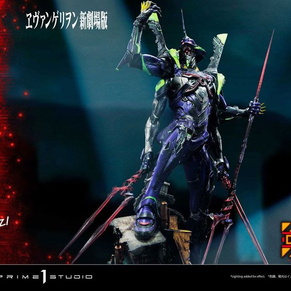 Estatua Evangelion 13 Concept by Josh Nizzi Deluxe Version Evangelion 3.0 You Can (Not) Redo