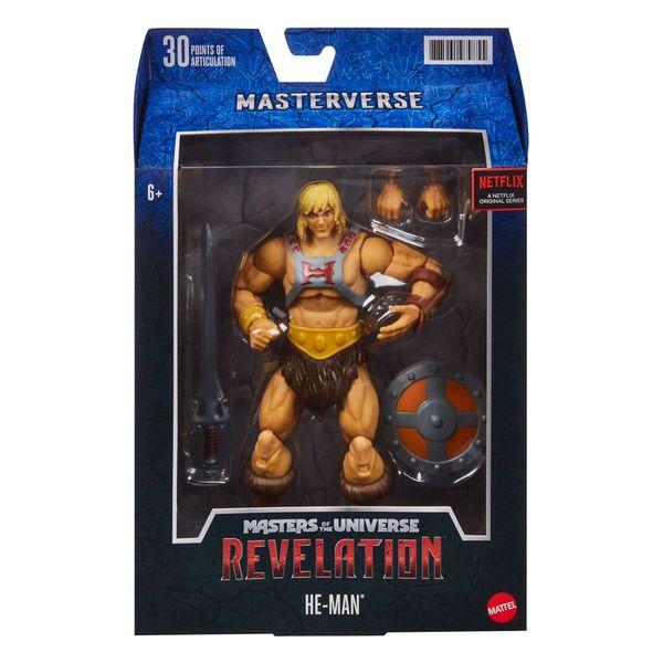 Figura He Man Masters of the Universe Revelation Masterverse