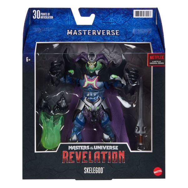 Figura Skelegod Masters of the Universe Revelation Masterverse