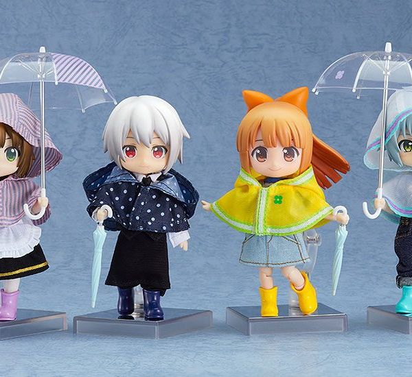 Outfit Rain Poncho Yellow Set Nendoroid Doll