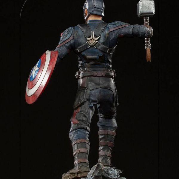 Captain America Ultimate Statue Marvel Comics BDS Art Scale
