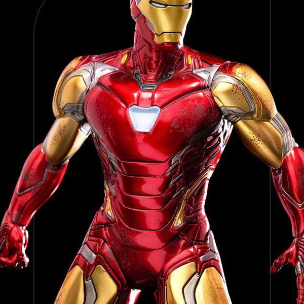Esatua Iron Man Ultimate Marvel Comics BDS Art Scale