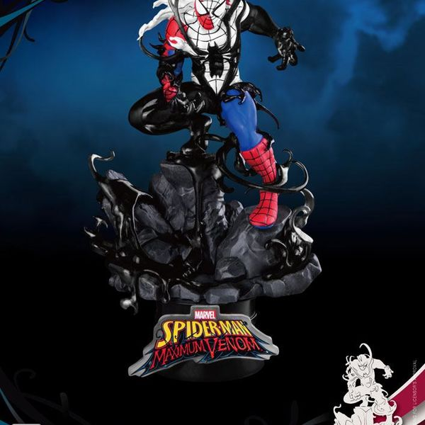 Figura Spider-Man Marvel Comics Maximum Venom Special Edition D-Stage