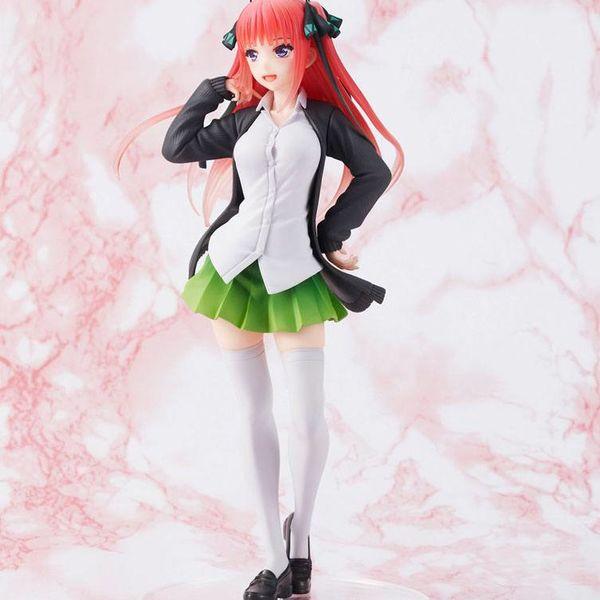 Figura Nakano Nino Uniform Ver The Quintessential Quintuplets Coreful