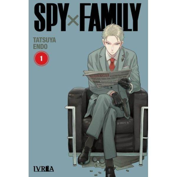 Spy X Family #01 Manga Oficial Ivrea