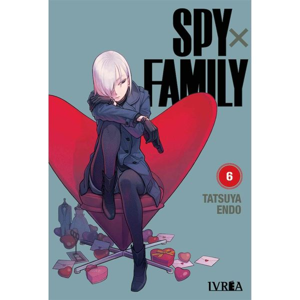 Spy X Family #06 Manga Oficial Ivrea