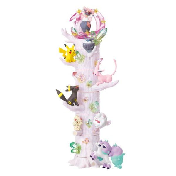 Atsumete! Kasanete! Figures Pokemon No Mori Set 6