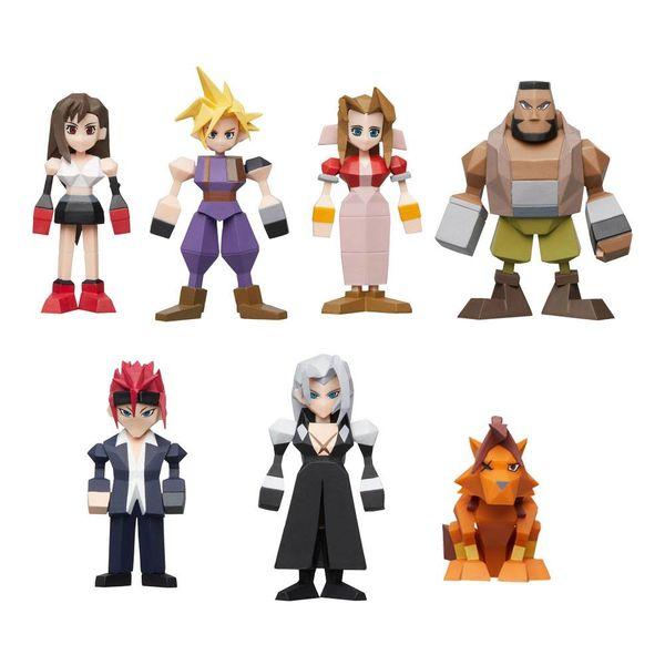 Figura Final Fantasy VII Polygon Set