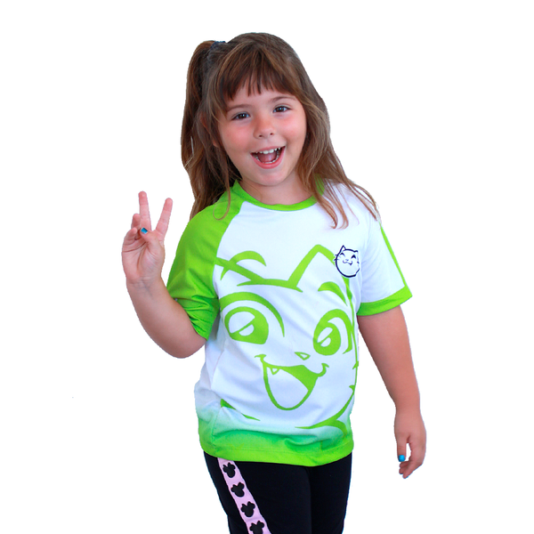 Camiseta Kurogami Sport Blanca - Con tu nombre