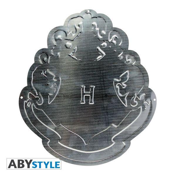 Hogwarts Logo Metal Plate Harry Potter