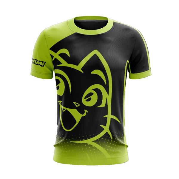 Camiseta Kurogami Sport Negra - Con tu nombre