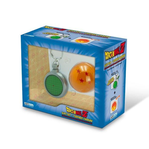 Llavero Radar y Bola De Dragón 4 Estrellas Set Dragon Ball Z