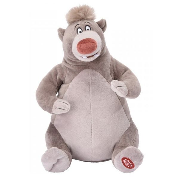 Baloo Plush Toy The Jungle Book with sound and movement Disney 30cm