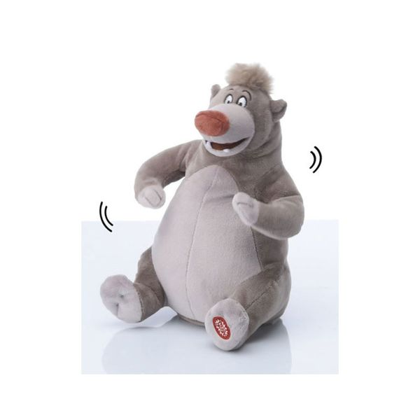 Plush with sound and movement Baloo The Jungle Book Disney 30cm