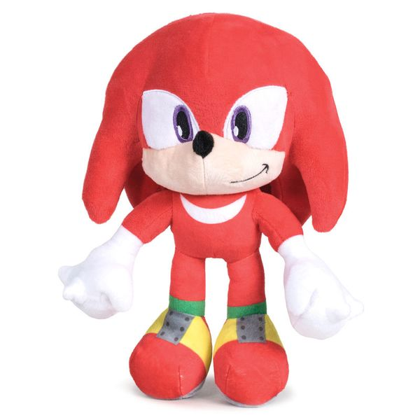 Peluche Knuckles Sonic The Hedgehog 24cm