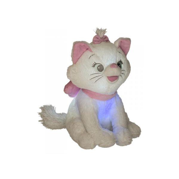 Peluche Marie Aristogatos con luz y sonido Disney 30cm
