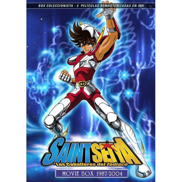 Saint Seiya Los Caballeros Del Zodiaco Movie Box 1987-2004 DVD