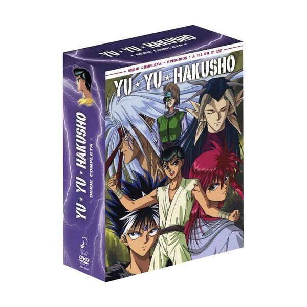 Yu Yu Hakusho Serie Completa DVD