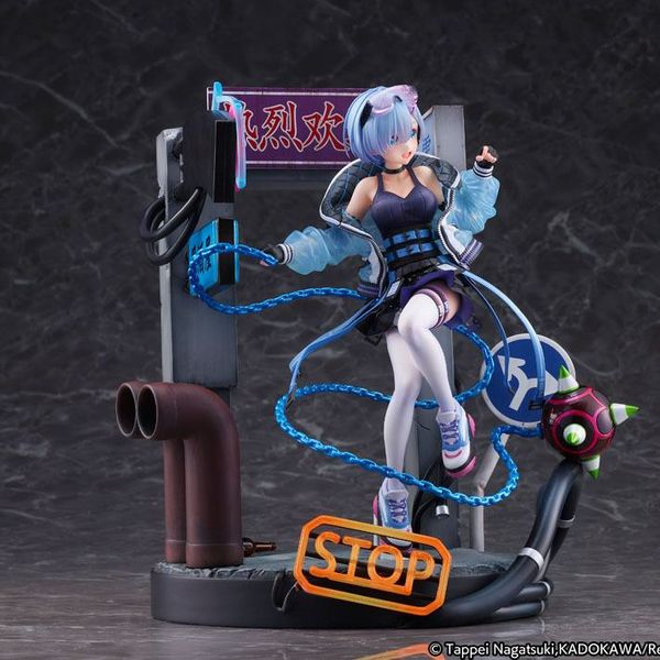 Figura Rem Neon City Ver Re Zero Starting Life in Another World