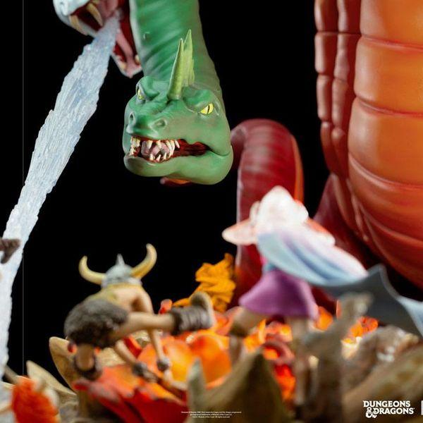 Estatua Tiamat Battle Dungeons & Dragons Demi Art Scale