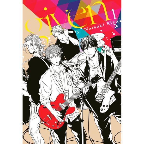 Given #01 Manga Oficial Milky Way Ediciones