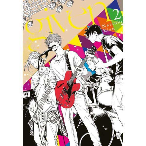 Given #02 Manga Oficial Milky Way Ediciones