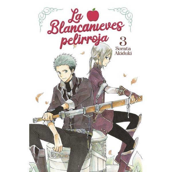 La Blancanieves Pelirroja #03 Manga Oficial Norma Editorial