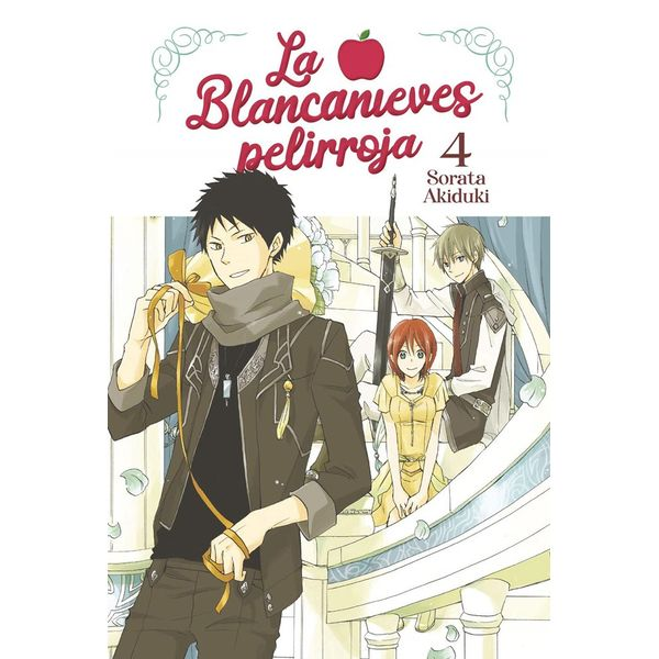 La Blancanieves Pelirroja #04 Manga Oficial Norma Editorial