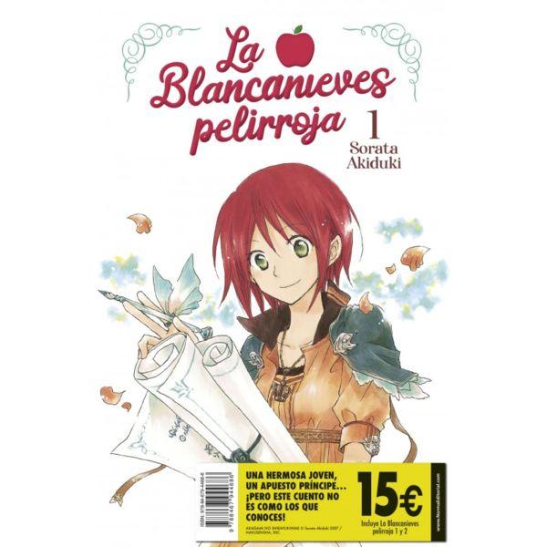 La Blancanieves Pelirroja 01 y 02 Pack de Iniciación Manga Oficial Norma Editorial