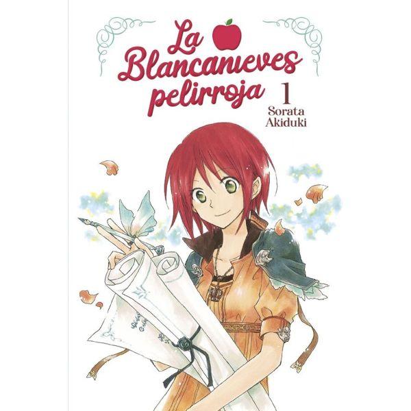 La Blancanieves Pelirroja #01 Manga Oficial Norma Editorial