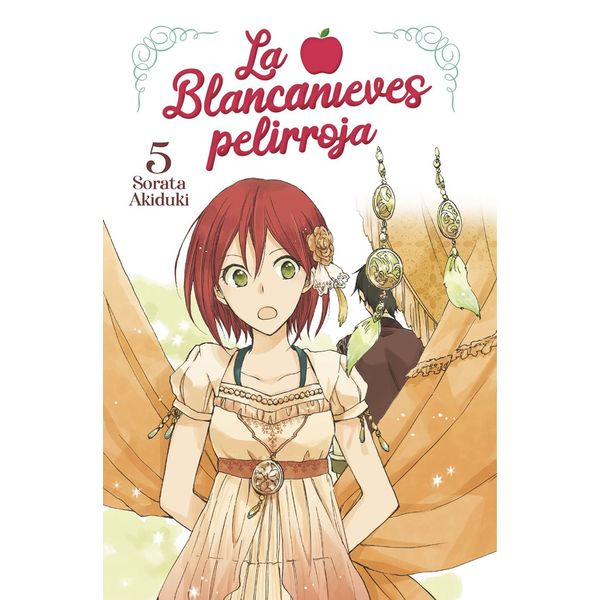 La Blancanieves Pelirroja #05 Manga Oficial Norma Editorial