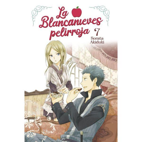 La Blancanieves Pelirroja #07 Manga Oficial Norma Editorial