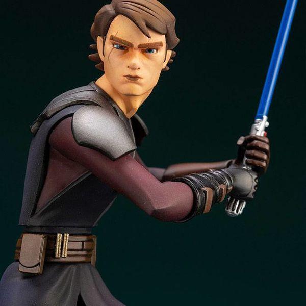 Anakin Skywalker Figure Star Wars The Clone Wars ARTFX+
