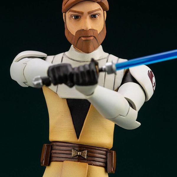 Obi-Wan Kenobi Figure Star Wars The Clone Wars ARTFX+