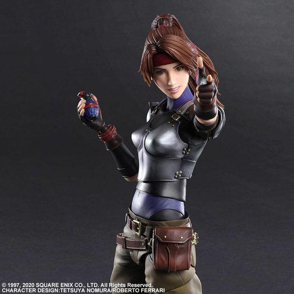 Jessie Figure Final Fantasy VII Remake Play Arts Kai