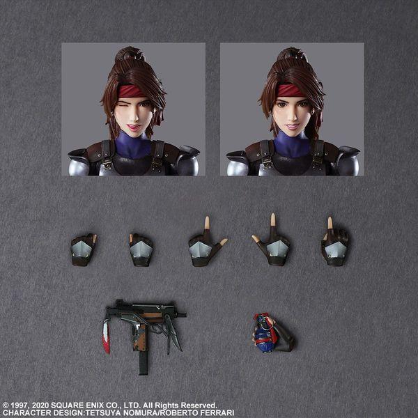 Figura Jessie Final Fantasy VII Remake Play Arts Kai
