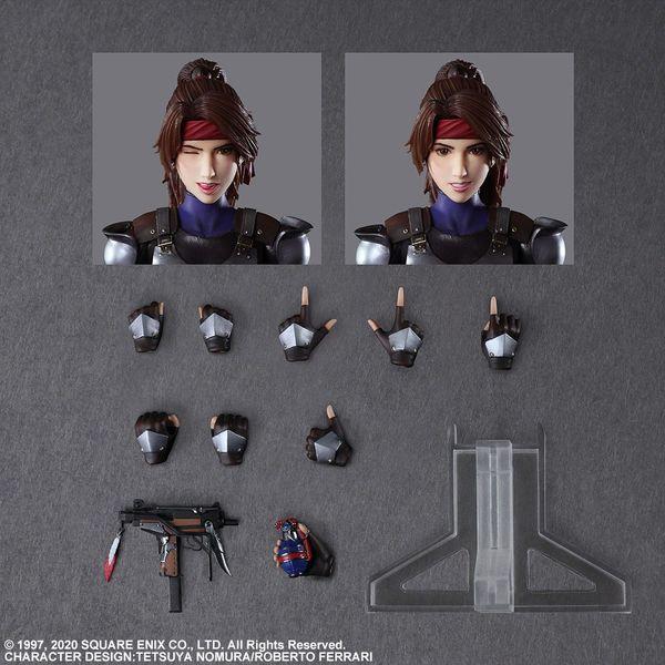 Figura Jessi con Moto Final Fantasy VII Remake Play Arts Kai