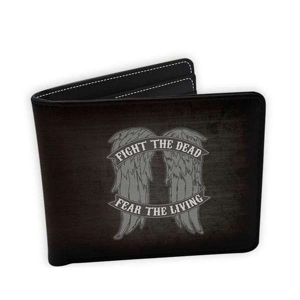 Fight The Dead Fear The Living Wallet The Walking Dead